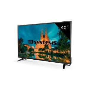 TD System K40DLM7F, el televisor sencillo pero potente